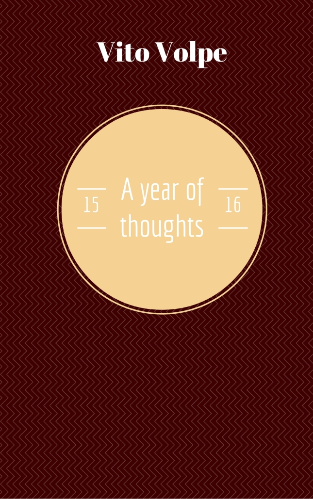 A year of thoughts 15%2F16